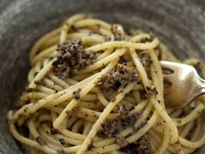 Spaghetti al tartufo nero di Norcia