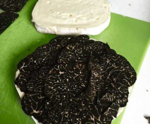 Camembert with Truffles