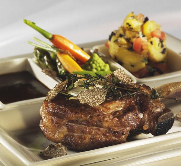 Truffle and Steak