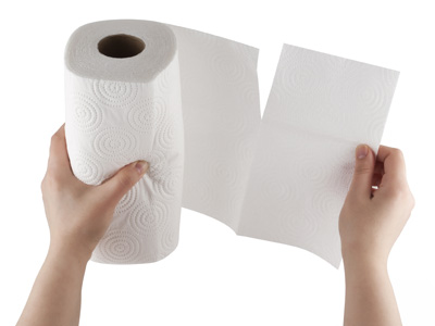 Truffle Storage in Paper Towel