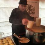serving-truffle-dishes-in-a-marquee