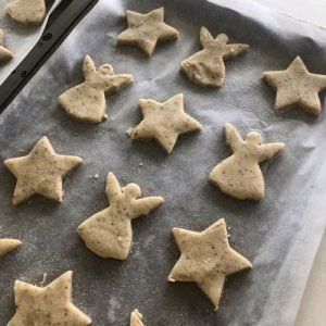 Truffle Butter Christmas Shortbread